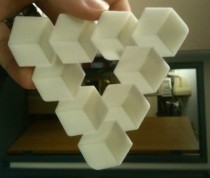 3D Printed Penrose Triangle