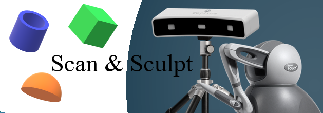 3d scanners and haptic devices
